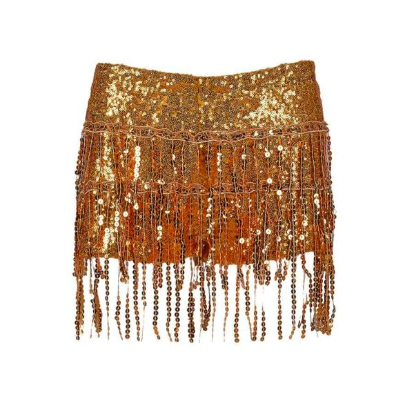 Sequin Shorts - Gold Sequin Shorts