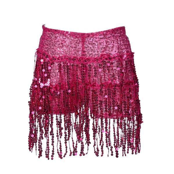 Sequin Shorts - Pink Sequin Shorts