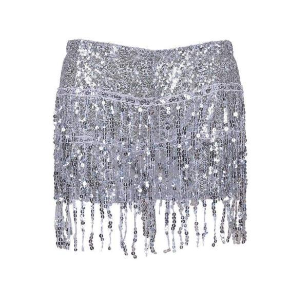 Sequin Shorts - Silver Sequin Shorts