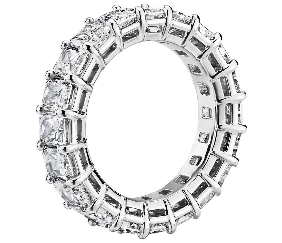 Eternity Band - Radiant Cut Diamond (6 ct tw)