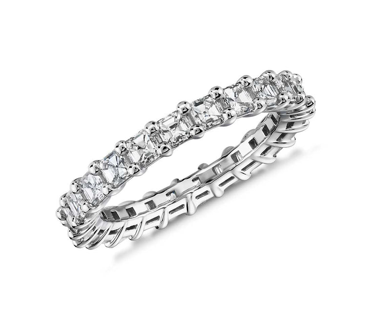 Eternity Band - Asscher Cut Diamond (2 ct tw)