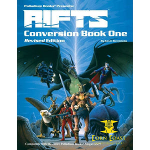 Palladium Rifts Conversion Book