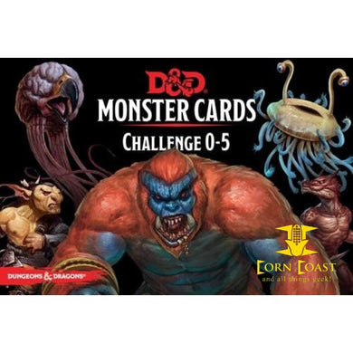 Dungeons & Dragons Monster Cards Challenge 0-5