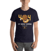 Pets In Tech Navy / S 404 Cat Doesn't Respond - Short-Sleeve Unisex T-Shirt