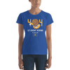 Pets In Tech Royal Blue / S 404 Cat Doesn't Respond - Women's short sleeve t-shirt