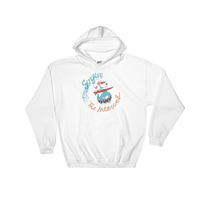 Pets In Tech White / S Surfin' the Interweb Puppy - Hoodie