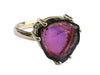 Watermelon Tourmaline Ring in 18k Gold