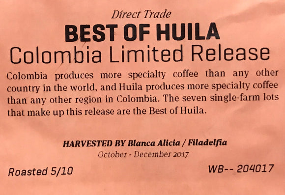 Best of Huila Colombia limited Release -  الافضل في هويلا كولومبيا اصدار محدود - EQUAL Coffee Hub