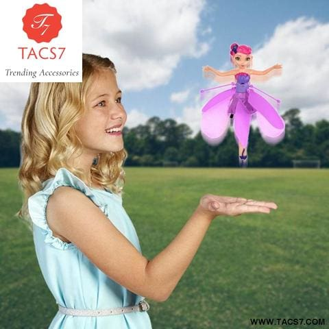 Flying Fairy Magical Princess Cute Dolls Toy for Girls