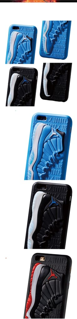 Tide NBA Sport 3D Basketball Shoes Air Dunk Jordan Sneaker Couple Phone Case for iphone 6 6S 7 8 Plus X 10 XS XR MAX Soft Cover