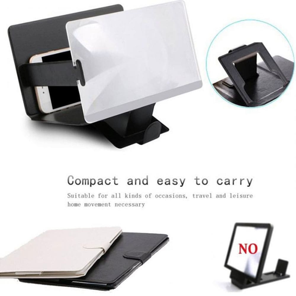 Phone Desk Lazy Holder Phone Screen Amplifier For iPhone XR 7 8 Desk Phone Holder Screen Amplifier
