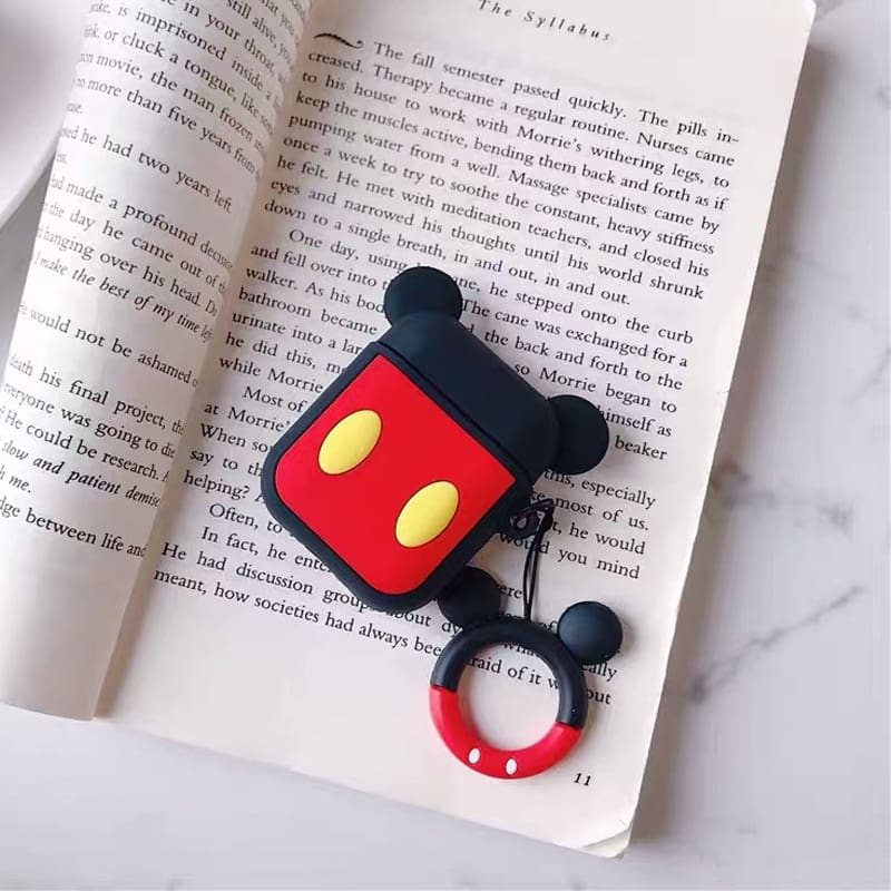 Cartoon Wireless Bluetooth Earphone Case For Apple AirPods Silicone Headphones Cases For Airpods 2 Protective Cover
