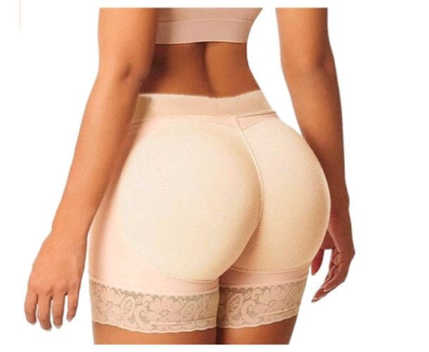 Plus Size Frauen Hintern Booty Lifter Shaper Bum Lift Hosen Gesäß Enhancer Horts Slip Sicherheits Kurze Hosen