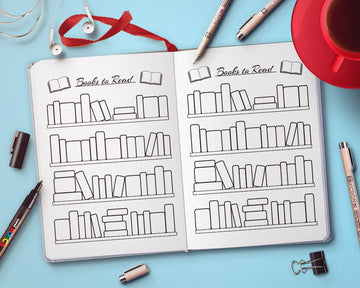 Bullet Journal Books to Read Planner Printable