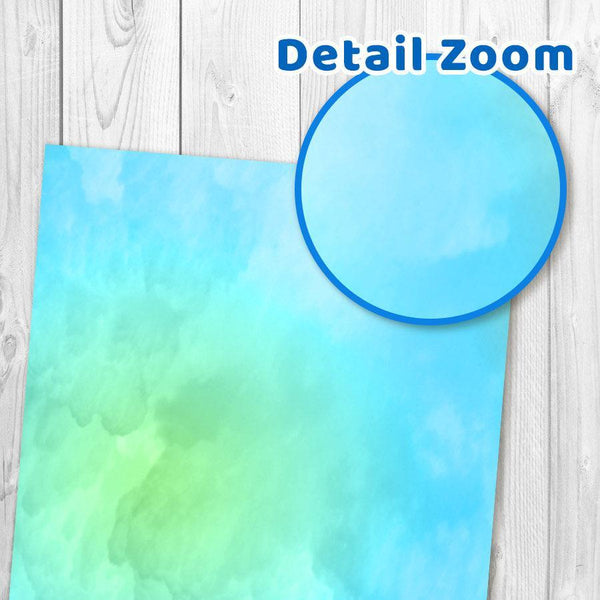 Watercolor Digital Paper - The Digital Download Shop