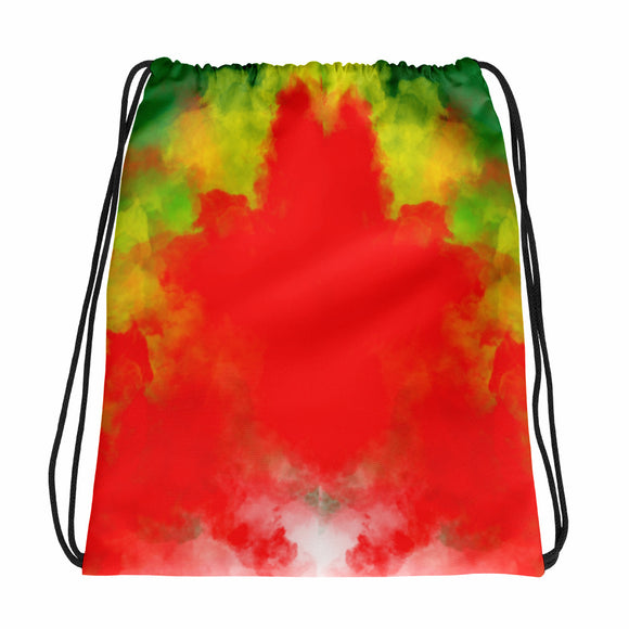 Rasta Drawstring bag