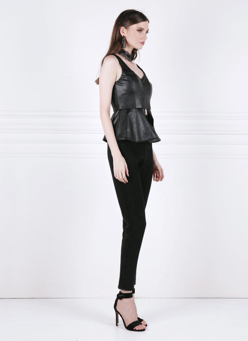 Segmented Peplum Top - FINAL SALE