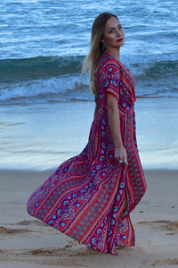 Gypsy Wanderer Maxi Dress