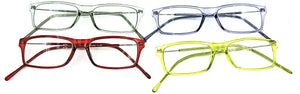 Harper Full Lens Clear Readers - All Colors