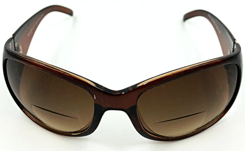 Emma Bifocal Sun Readers - Brown