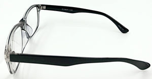 Peyton Clear Reading Glasses (Side View)