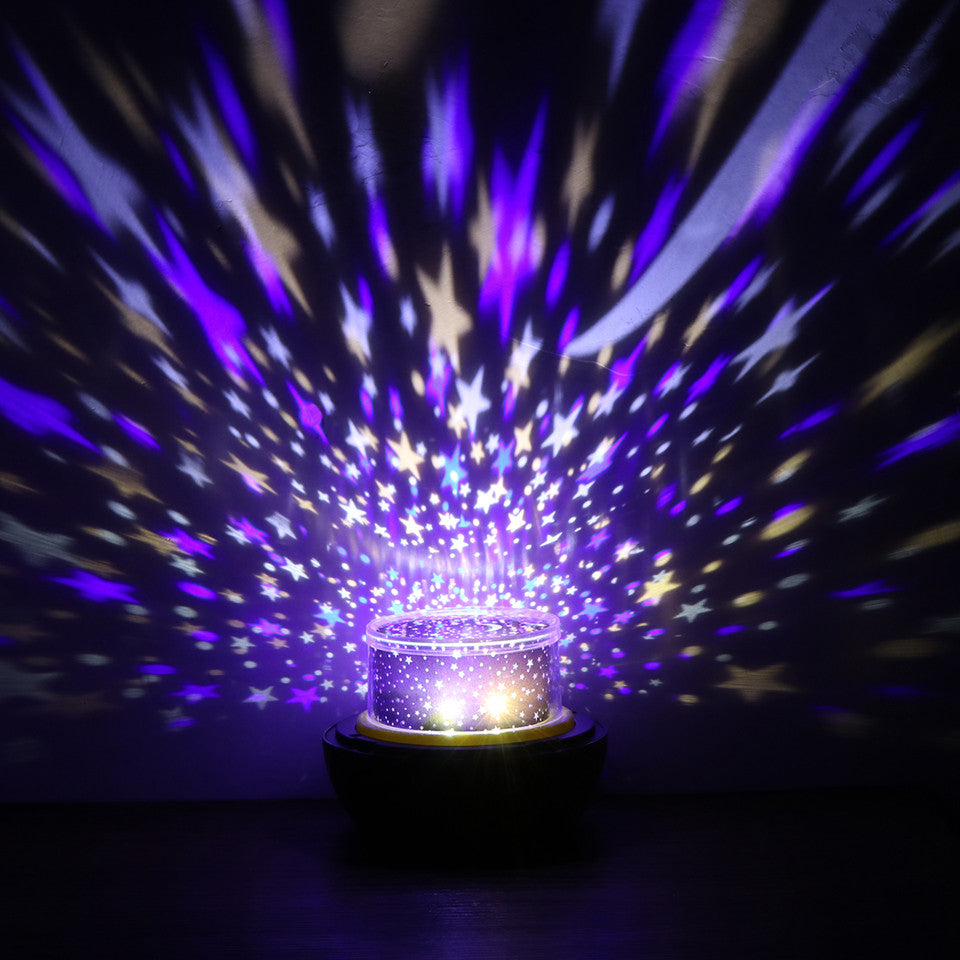 Earth/Universe LED Star Projector Lamp