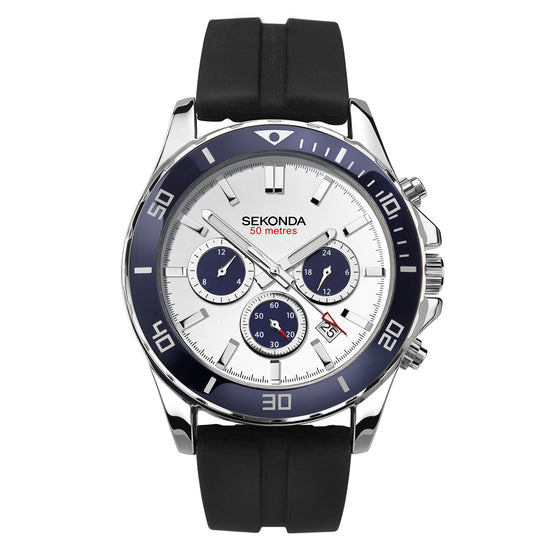 Sekonda Men's Dual-Time Sports Watch