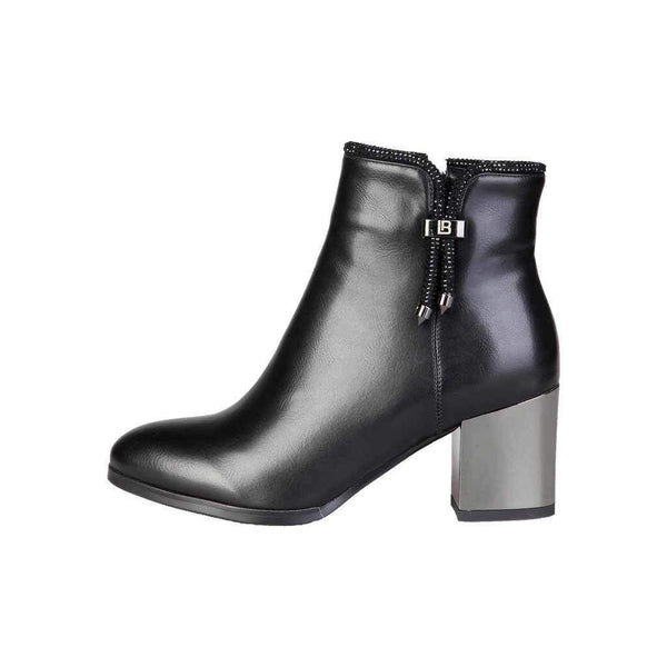 Boots With Polished Heel Laura Biagiotti-1Style.ch