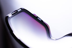 R7SW Recycled Plastic Ski Goggles - Purple magnetic lens