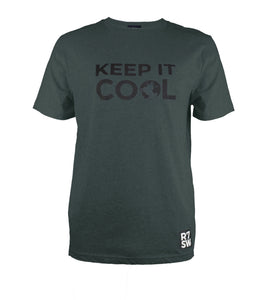 """KEEP IT COOL"" CLIMATE CHANGE AWARENESS T-SHIRT"