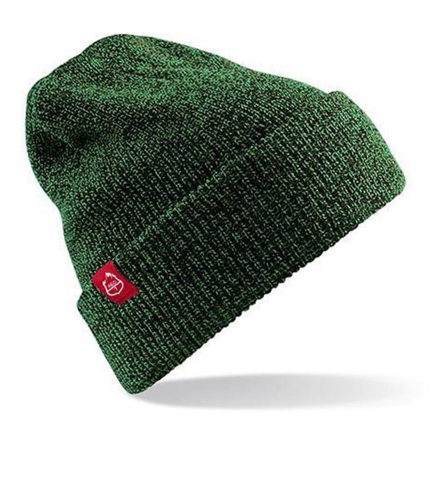 RED7 BEANIE IN MOSS GREEN - RED7SKIWER