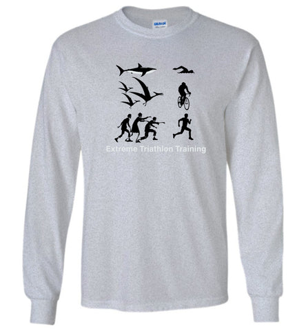 """Extreme Triathlon Training"" - Unisex Long Sleeve Tee"