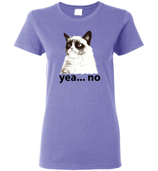 "Women's Favorite Tee -""Grumpy Cat"""