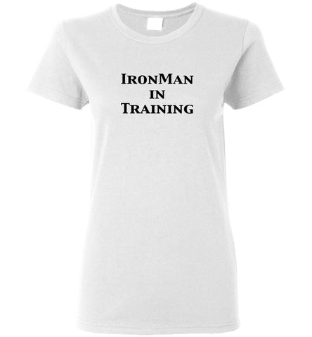 "Women's ""IronMan in Training"" Tee"