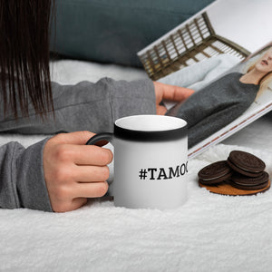 #TAMOONAmusic - Matte Black Magic Mug