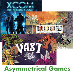 Game Mechanic: Asymmetrical Games