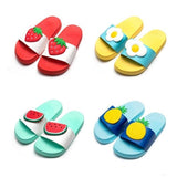 Kawaii Fruit Slip On Sandals Beach Indoor Shoes Slippers Squishy Soft by DDLG Playground