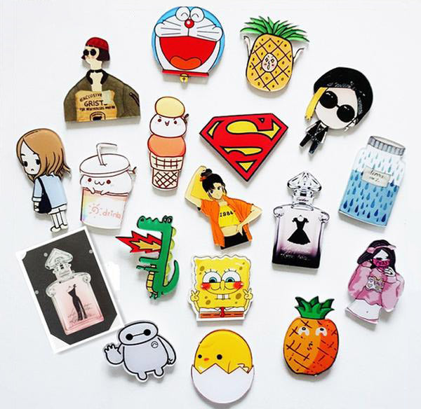 Cute Items and Movies Magnets-Magnets-Wantalo