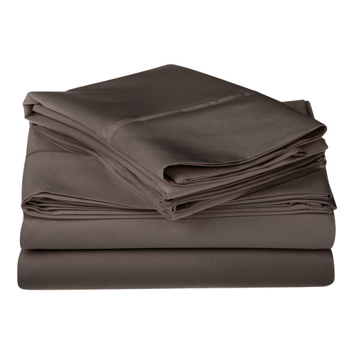 Superior 1200 Thread Counttc 100% Egyptian Cotton Solid Sheet Set