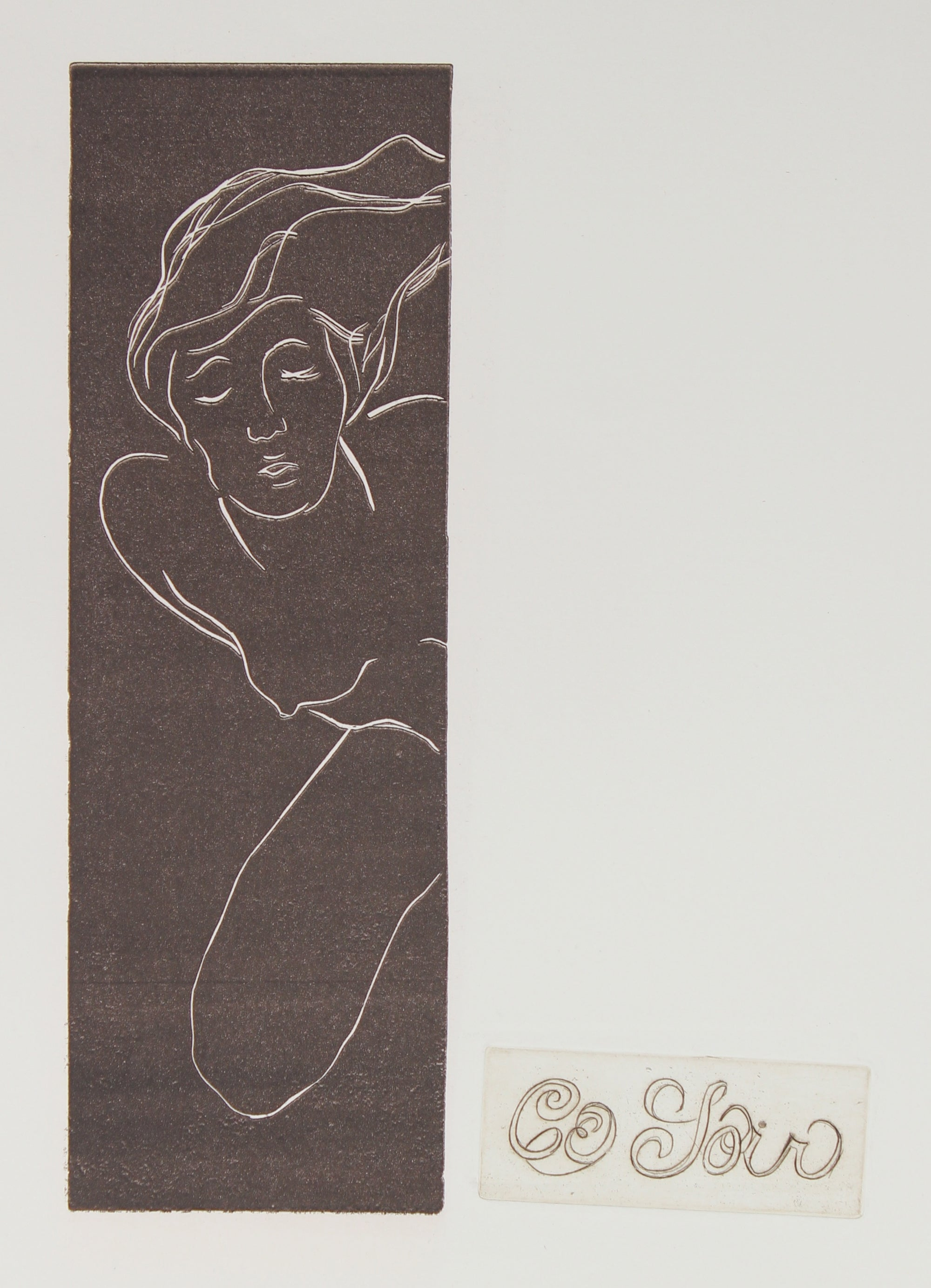 <i>Ce Soir</i><br>Woodcut & Etching 1960-70s<br><br>#2243