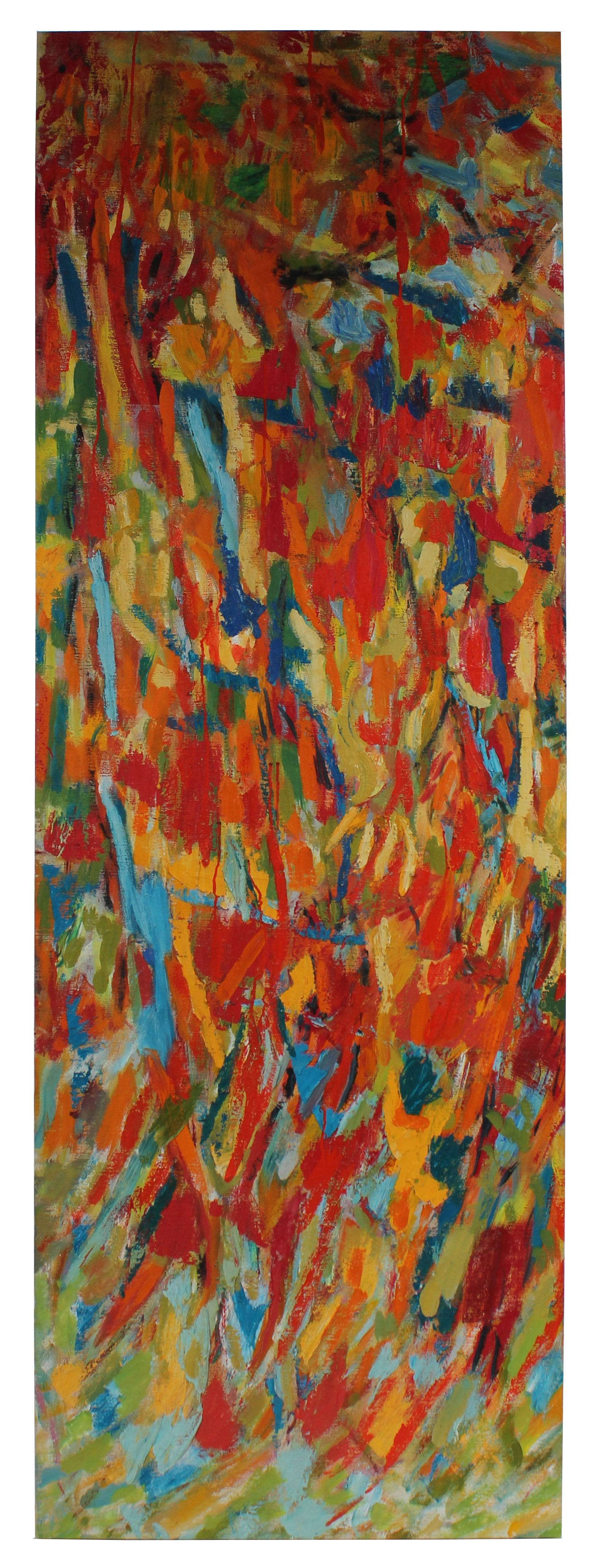 Large-Scale Abstract Expressionist Canvas<br>1940-60sOil <br><br>#4916