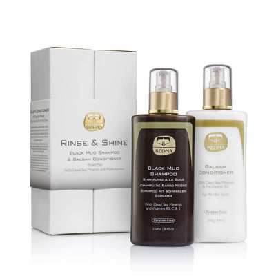 Rinse & Shine Shampoo and Conditioner Kit