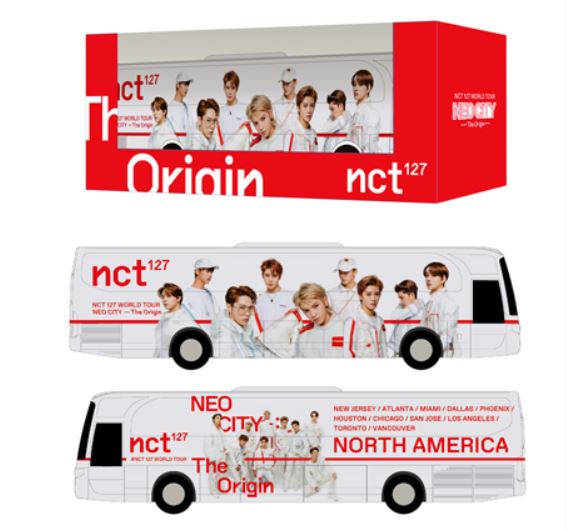 NCT 127 [NEO CITY] Official MD - Miniature Neo City Tour Bus