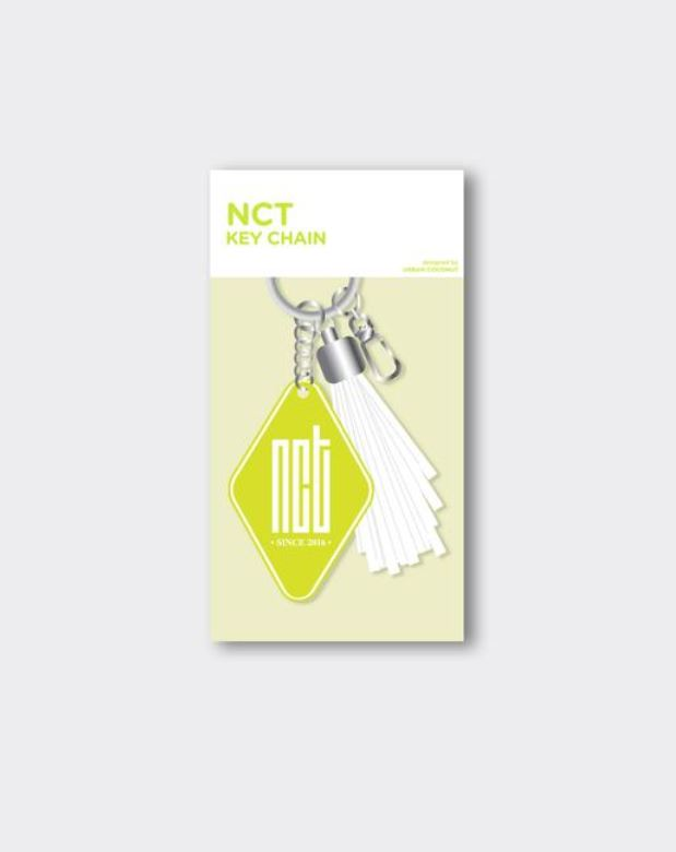 NCT OFFICIAL GOODS - LEATHER TASSEL KEYCHAIN
