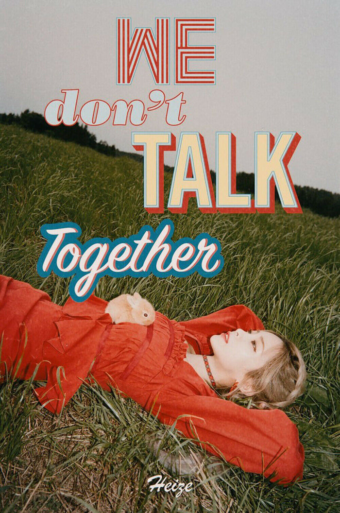 Heize Single Album - WE DON'T TALK TOGETHER