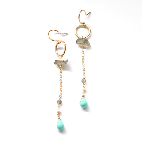Oceanside earrings