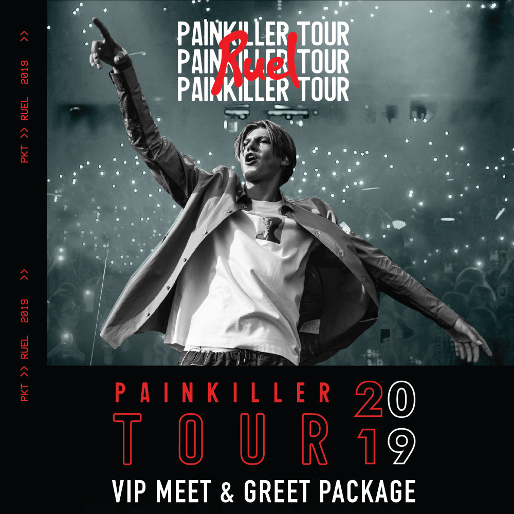 PAINKILLER VIP MEET & GREET (HOBART 9TH MAY)