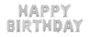 "16"" 'Happy Birthday' foil set x 1 (Flat pack) - $ 15.90 each"