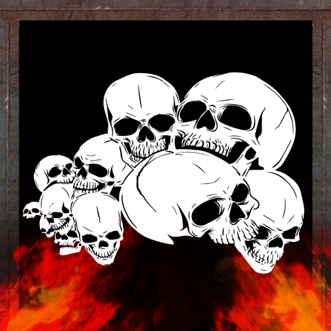 skull background 4