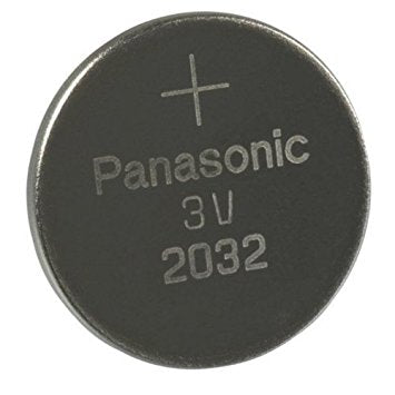 Panasonic CR2032 3V Lithium Coin Cell Battery 2032